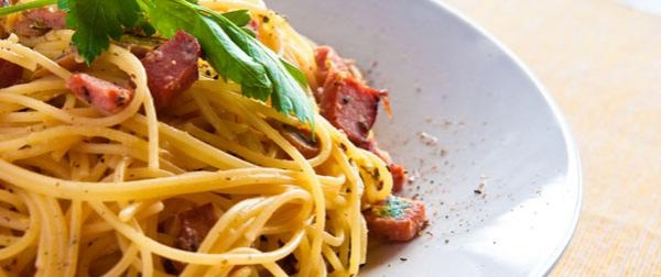 Bethenny Frankel's Low-Fat Pasta Carbonara. Try using grilled chicken ...