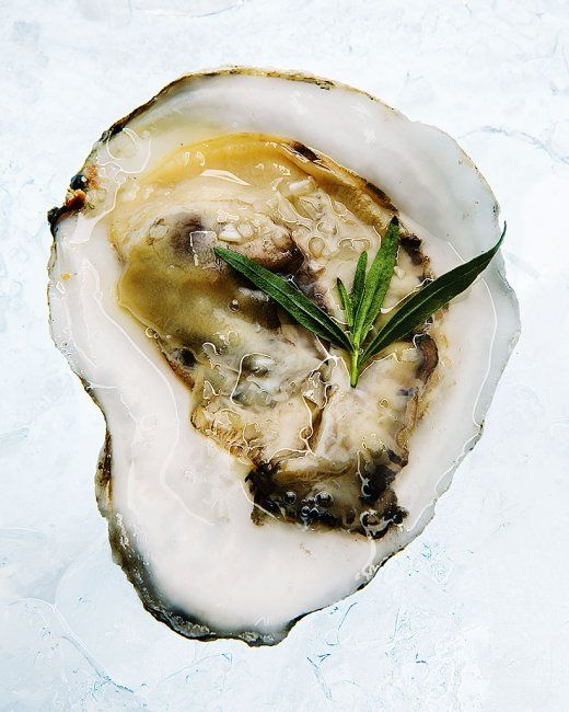Oysters with Champagne-Tarragon Mignonette | Recipe