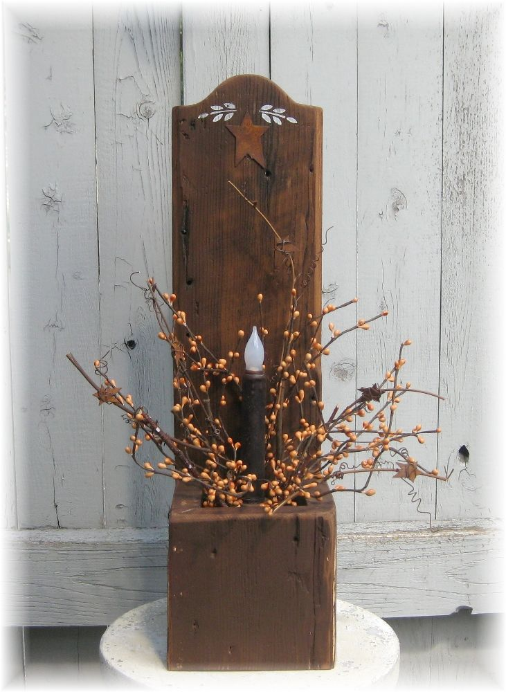 Primitive Wood Crafts On Pinterest
