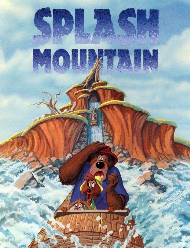 splash mountain | Disney Ride Posters | Pinterest