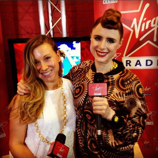 Kiesza just dropped by to chat to Tessa in the #RedRoom about her hit
