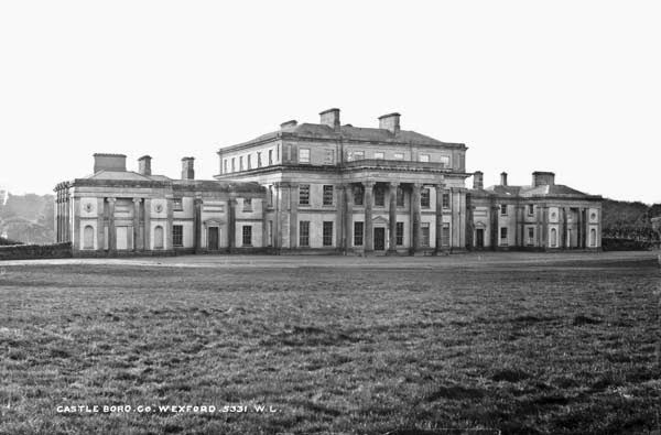 Once one of ireland 39 s great country homes castleboro co wexford now little more than an - Difference shell house turnkey ...
