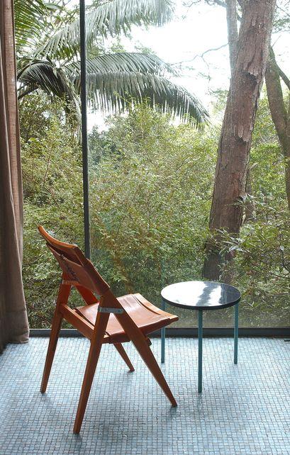 Cadeiras da Casa de Vidro, Lina Bo Bardi.