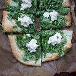 ... Blog Archive » white pizza with arugula, parmesan, lemon, & ricotta