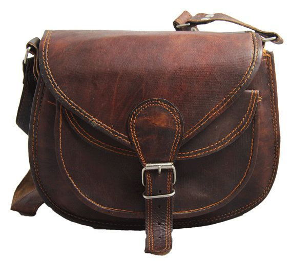Leather Purse Gypsy style small ladies leather by creativeleather, $37.00