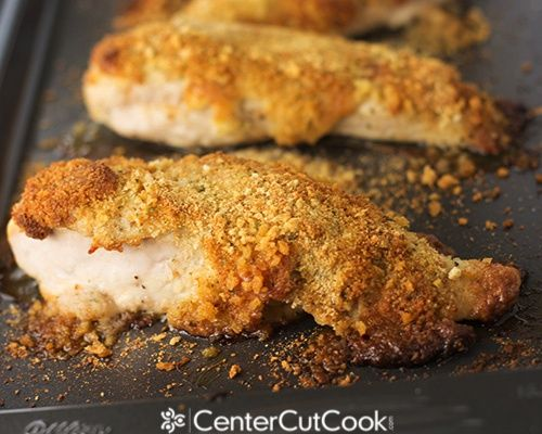 Parmesan Crusted Chicken | Recipe