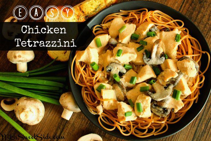 Crockpot recipe! Easy Chicken Tetrazzini | Recipes & Delicious Food ...