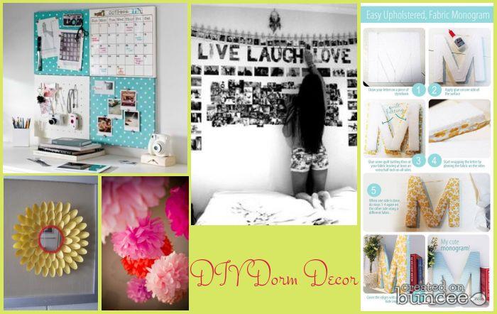 DIY Dorm Decor Dorm Room Trends Pinterest