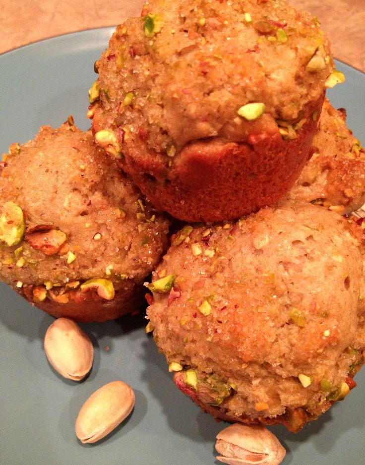 More like this: pistachio muffins , pistachios and muffin recipes .