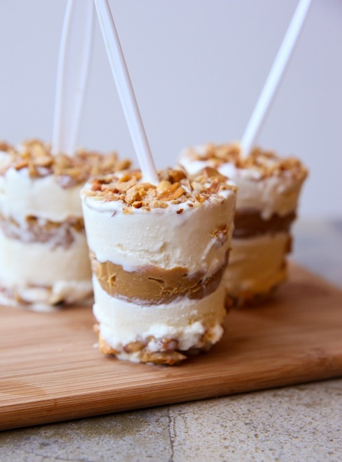 peanut butter brittle ice cream pops | Ice Cream & Frozen Treats ...