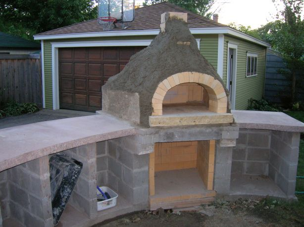 Building A Pizza Oven Outdoor Decor Pinterest