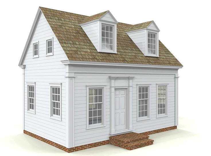 House plans and design house plans small cape for Cape cod tiny house