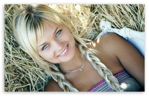 Blonde Girl wallpaper | Nice Visuals | Pinterest