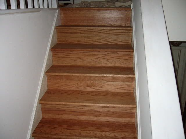 carpet to wood stairs : Cabin Ideas : Pinterest