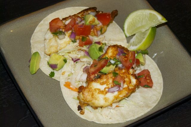... Tacos: Easy beer battered fish tacos with homemade tomato avocado