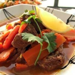 And Spices, Lamb Tagine, This Is A Traditional Moroccan Lamb Tagine ...