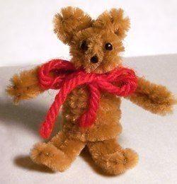 pipe cleaner bear dolls crafts pinterest
