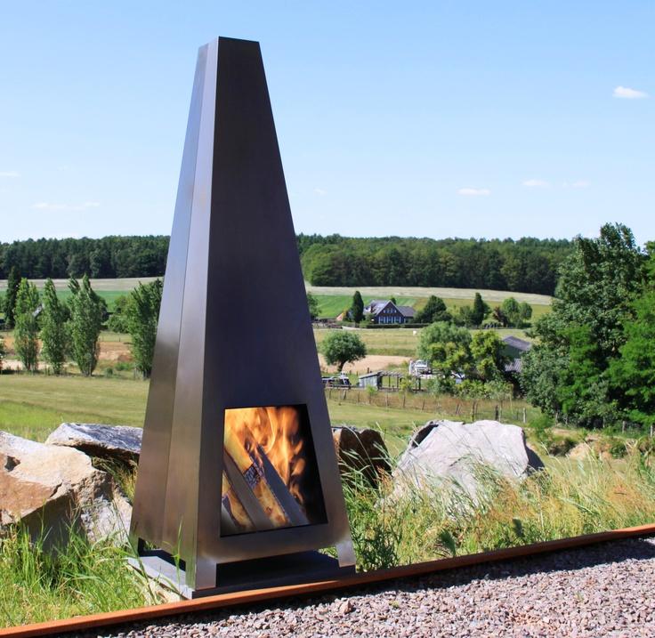 Corten Steel Fire Place Abk Hires Images Downloads Ou