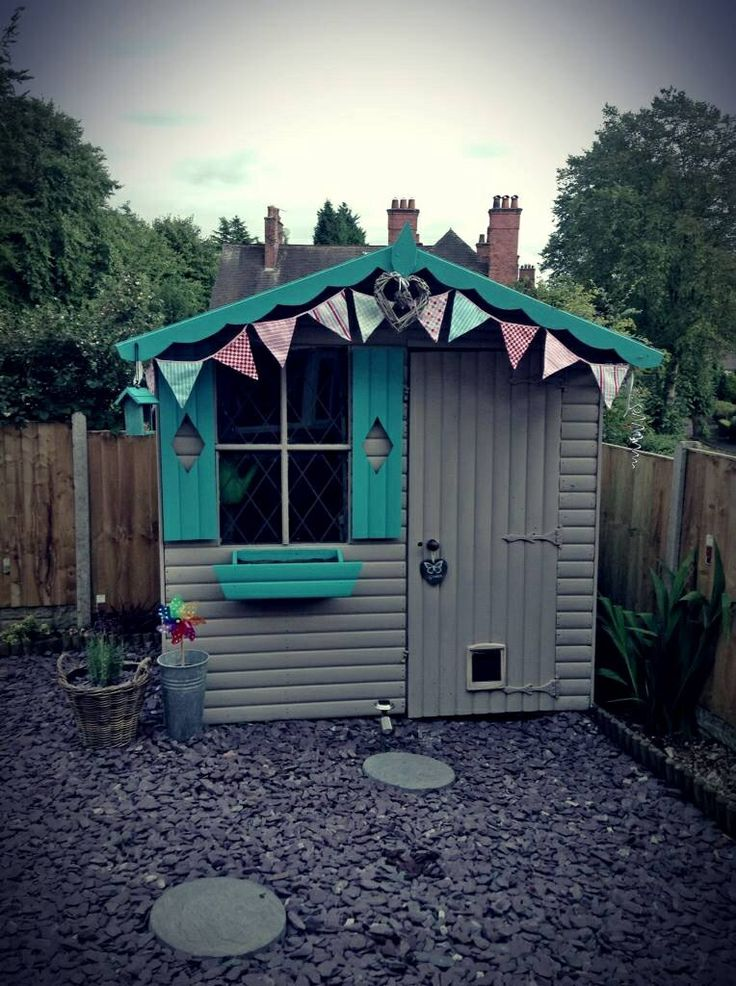 My Shabby chic shed Shabby chic outdoor living