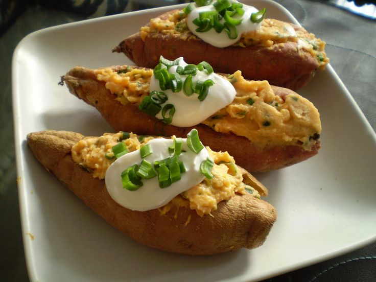Savory Stuffed Sweet Potatoes With White Beans And Kale Recipes ...