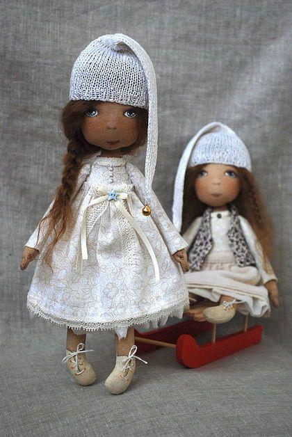 Коллекционные куклы ручной работы.  Ярмарка Мастеров - ручная работа Гномочки.  Ручная работа.