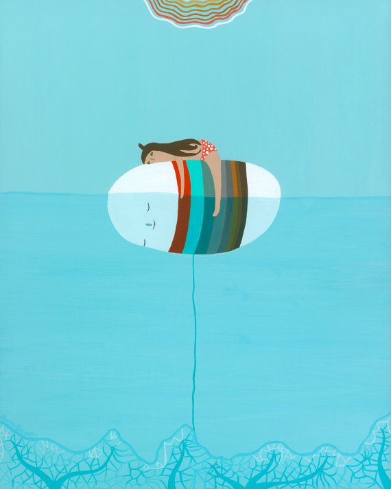 sale on beats Buoy Original Painting