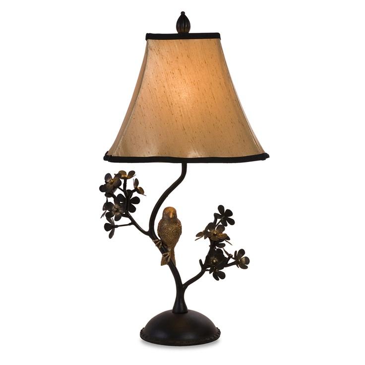 Bird Branch Table Lamp ☀light The Way☀ Pinterest