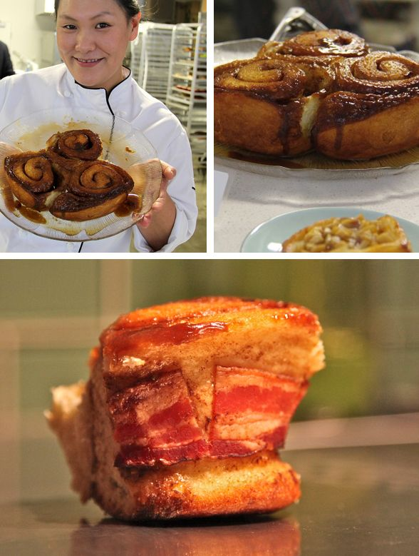 Canadian Maple Bacon Sticky Buns At Cadeaux Bakery