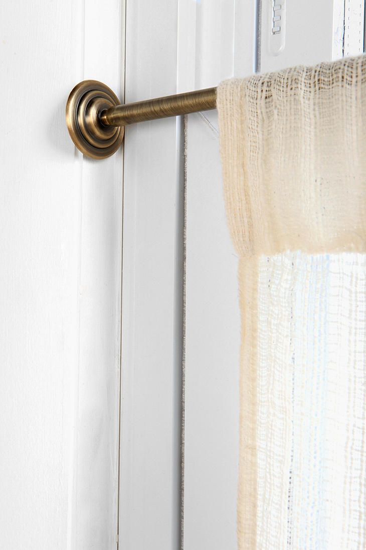 tension curtain rod dream home pinterest