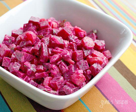 Red Beet Salad | Skinnytaste