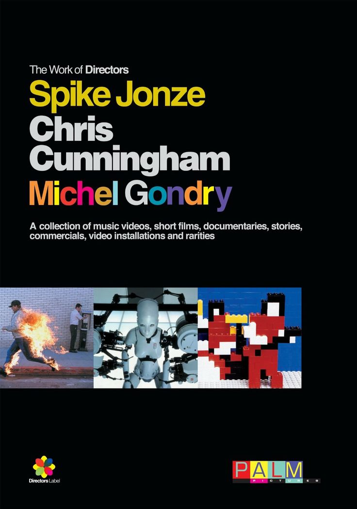 Amazon.com: Director's Label Series Boxed Set - The Works of Spike Jonze, Chris Cunningham, and Michel Gondry: Michel Gondry, Akhenaton, Pat...