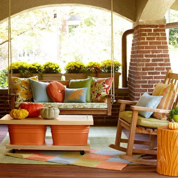 Living Space, Patios with Pizazz