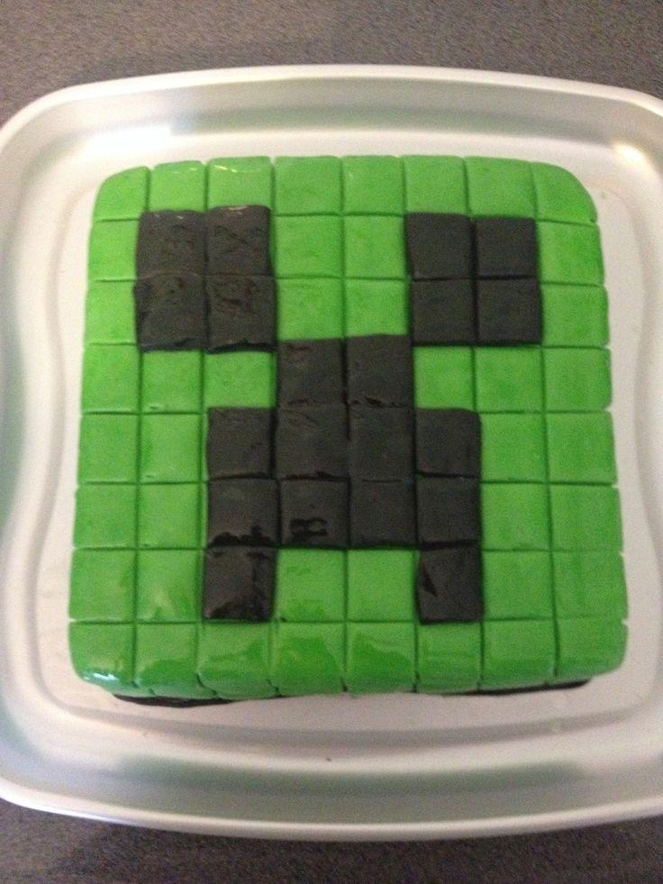 Wiki Minecraft Cake Minecraft Creeper Cake