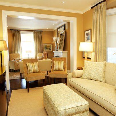 Benjamin moore stuart gold decorating the home pinterest - Gold wall color living room ...