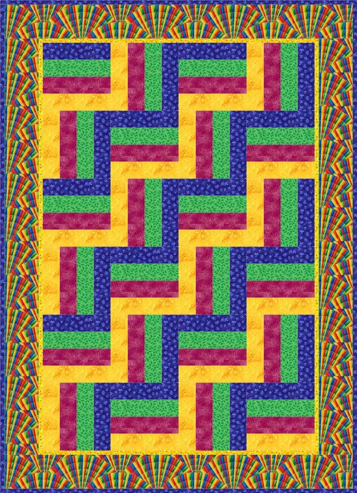 Quilt Patterns Squares And Rectangles : log+cabin+quilt+patterns+for+beginners ... SHAPES in Quilts: Squares and Rectangles Kathy K ...