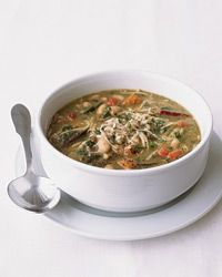 Pasta e Fagioli with Roasted Red Peppers and Swiss Chard Recipe on ...
