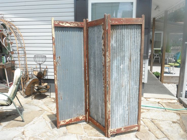 rustic outdoor folding screen exterior inspirations