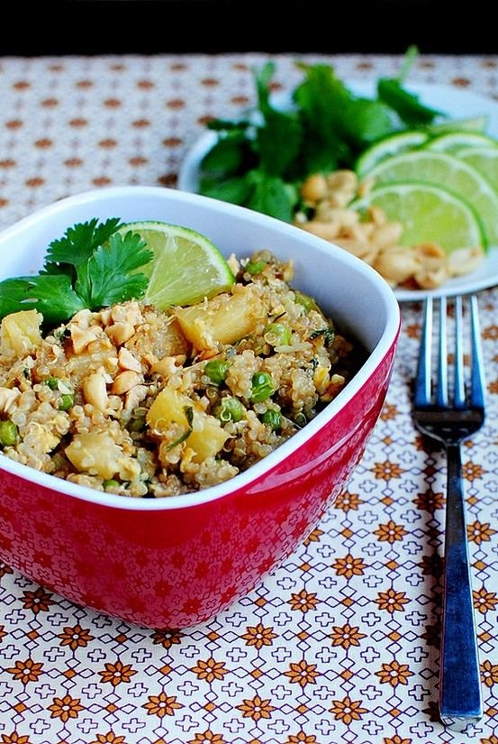 ... quinoa thai style black quinoa salad recipes dishmaps quinoa salad