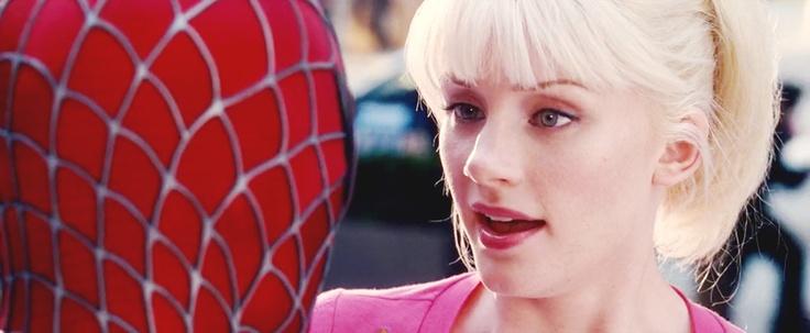 Gwen - Spiderman 3 > Bryce Dallas Howard. = Pretty