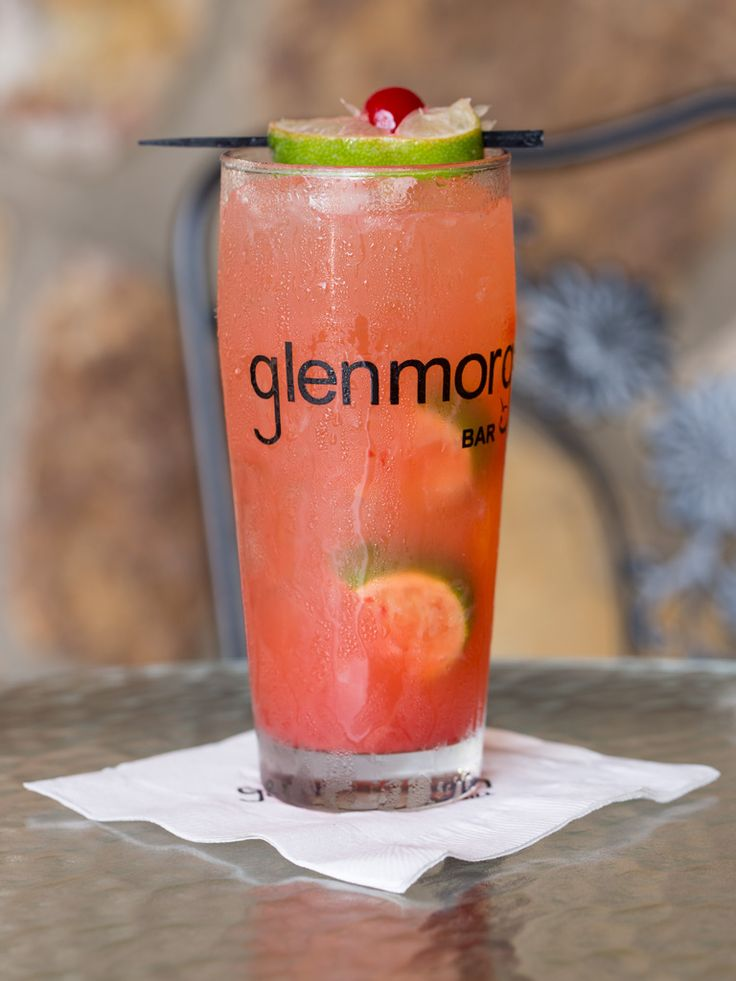 ... , pineapple juice and cherries available at Glenmorgan Bar & Grill