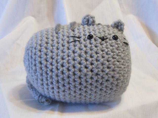 Pusheen Knitting Pattern : Pusheen Cat Amigurumi pattern by Tiffany Wilson