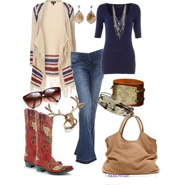 Southwestern Style Fashion Pinterest