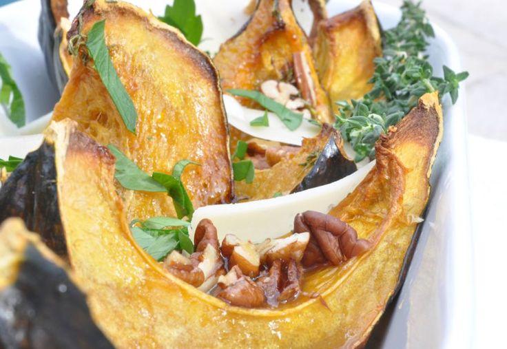 Acorn Squash with Orange-Thyme Glaze ~ Fresh roasted acorn squash ...