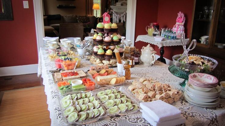 baby shower tea party party ideas pinterest