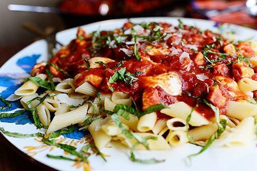 Chicken Mozzarella Pasta | Dinner recipes | Pinterest