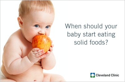 How Many Months Old Baby Do You Introduce Solid Foods