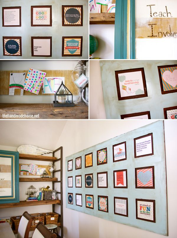 Homeschool Room Ideas Diy Pinterest