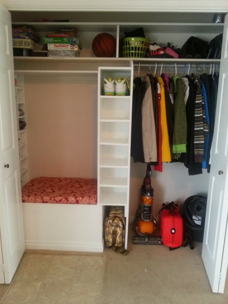 Entryway Closet Makeover Bench Inside Artsy Beautiful Organize