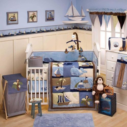 Whale Baby Bedding Sets
