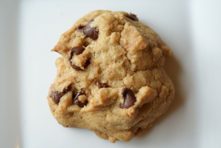 Thick and chewy chocolate chip cookies. Be sure to chill dough and ...